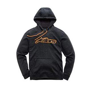Alpinestars Men's Logo Fleece Full Zip Hoodie Modern Fit