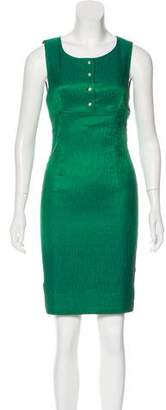 Dolce & Gabbana Textured Sleeveless Dress