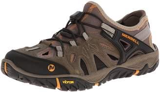 Merrell Men's All Out Blaze Sieve Water Shoe, Brindle/Butterscotch