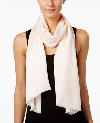 Calvin Klein Basic Soft Wrap & Scarf in One $34 thestylecure.com