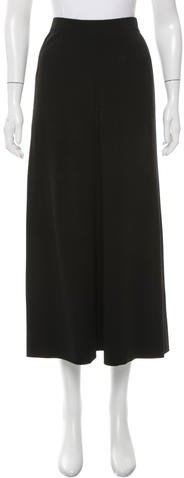 Chanel Chanel Wool Midi Skirt