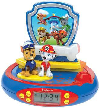 Lexibook Paw Patrol Radio Projection Alarm Clock