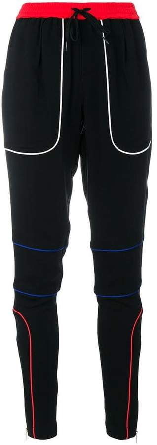 slim fit track pants