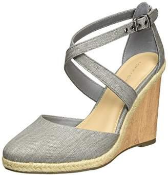 c7b7ec153c1d Tommy Hilfiger Women s E1285zmie 1d Wedge Heels Sandals