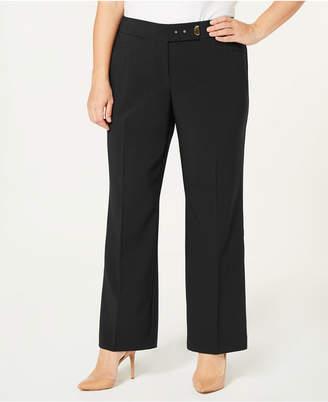JM Collection Plus Size Curvy-Fit Pants