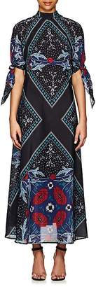 Warm Women's Nomad Floral Cotton-Silk Maxi Dress