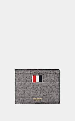 Thom Browne Men's Note-Compartment Card Case - Dark Gray