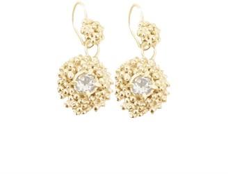 Lily Flo Jewellery Kaia White Sapphire Large Drop Earrings