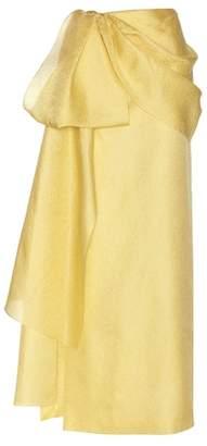 Rosie Assoulin Hustle & Bustle jacquard silk and cotton-blend maxi skirt