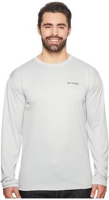 Columbia PFG ZERO Rulestm L/S Shirt - Big Men's Long Sleeve Pullover