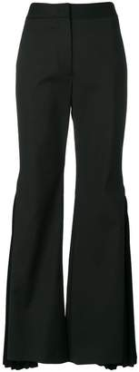 Sara Battaglia flared bell-style trousers