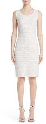Women's St. John Collection Knit Sheath Dress $995 thestylecure.com