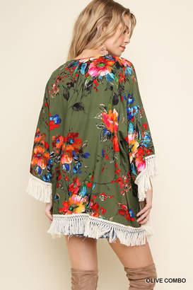 Umgee USA Watercolor Wonder kimono