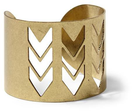 Juicy Couture Hive & Honey Chevron Cut-Out Cuff