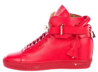 Buscemi 125MM Leather Sneakers w/ Tags