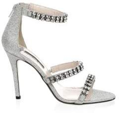 Sarah Jessica Parker Orbit Embellished Stiletto Sandals