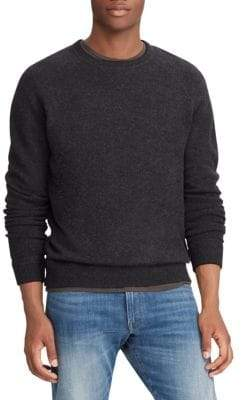 Polo Ralph Lauren Loryelle Classic-Fit Wool Long-Sleeve Sweatshirt