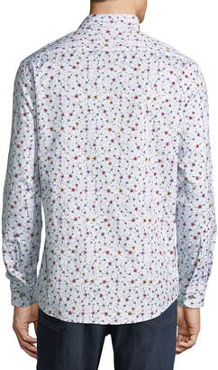 1 Like No Other Floral Sport-Shirt