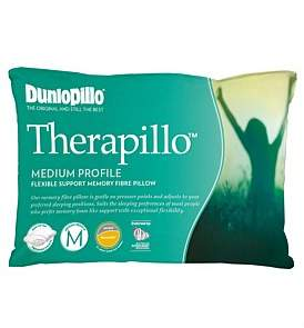 Dunlopillo Therapillo Flexible Support Medium Profile Pillow
