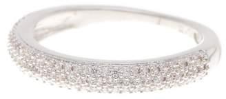 Nadri Pave CZ Thin Band Ring - Size 7