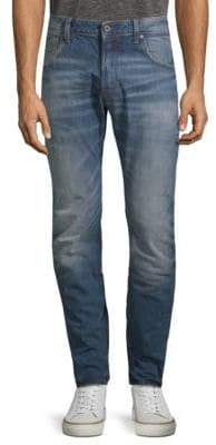 G Star Arc 3D Slim-Fit Cotton Jeans