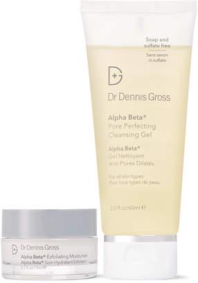 Dr. Dennis Gross Skincare The Alpha Beta Effect Cleanser And Exfoliating Moisturizer Set