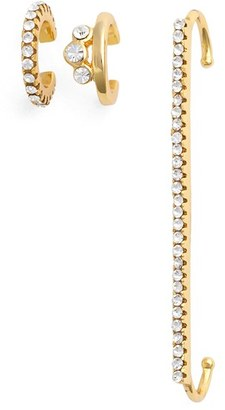 Women's Jules Smith Ear Cuffs (Set Of 3) $100 thestylecure.com