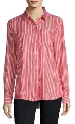Striped Button-Down Shirt