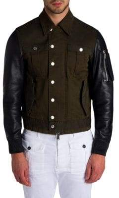 Viktor & Rolf Military Mix Jacket