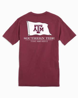 Southern Tide Gameday Nautical Flags T-shirt - Texas A&M University