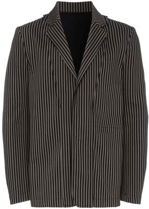Ann Demeulemeester Single-Breasted Striped Blazer