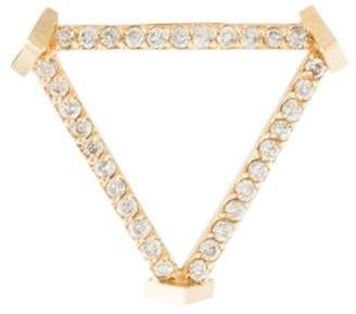 Paige Novick Phyne by 14K Diamond Open Triangle Earring