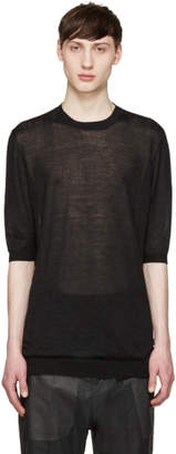 Thamanyah Black Cashmere Sweater