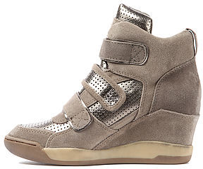 Ash Shoes The Alex Bis Sneaker in Stone and Biombo