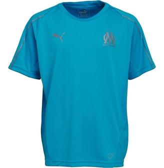 Puma Boys Olympique Marseille Training Top Bleu Azur