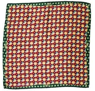 Louis Vuitton Mosaic Square Os Gemeos Silk Scarf