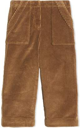 Burberry Corduroy Wide-leg Trousers