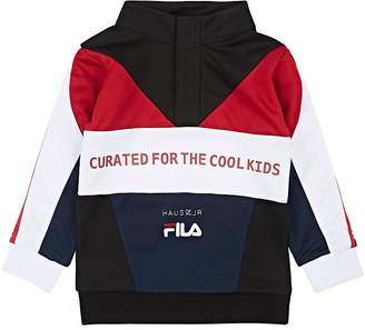 Fila Haus of JR x Kids' Logo-Embroidered Colorblocked Track Jacket