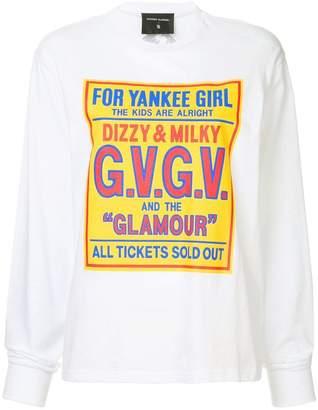 G.V.G.V. HYSTERIC GLAMOUR × printed hoodie
