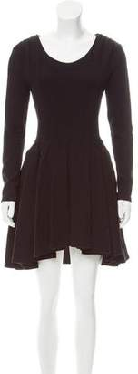 Proenza Schouler A-Line High-Low Dress