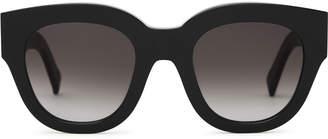 8fe7b6f575 Reiss Cleo - Monokel Eyewear Acetate Sunglasses in Black