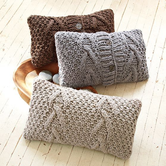 Lutz & Patmos Cable Pillow Cover