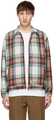 Dickies Construct Multicolor Plaid Flannel Baracuda Jacket