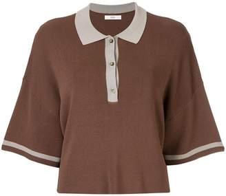 G.V.G.V. oversized polo sweater