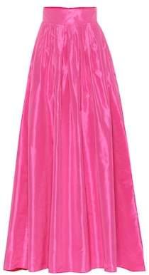 Carolina Herrera Silk taffeta skirt