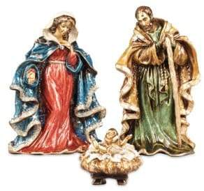 Jay Strongwater Holiday Nativity Figures Gift Set