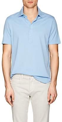 S.MORITZ Men's Capri Cotton Jersey Polo Shirt