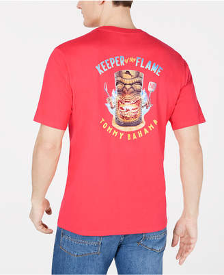 Tommy Bahama Men Keeper Of The Flame Logo Graphic T-Shirt