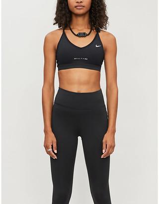 Alyx x Nike Victory logo-print stretch-jersey sports bra