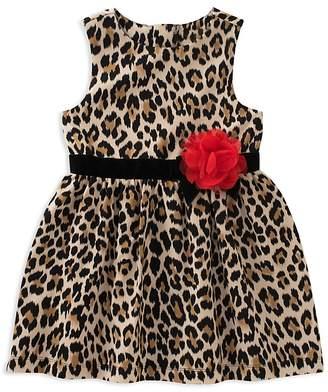 Kate Spade Girls' Leopard-Print Dress - Little Kid